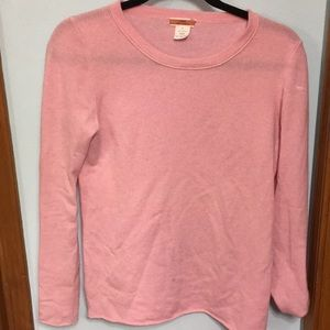 Jcrew pink cashmere sweater !!!